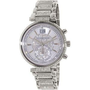 Silver Sawyer Stainless Steel Ladies Watch Mk6281